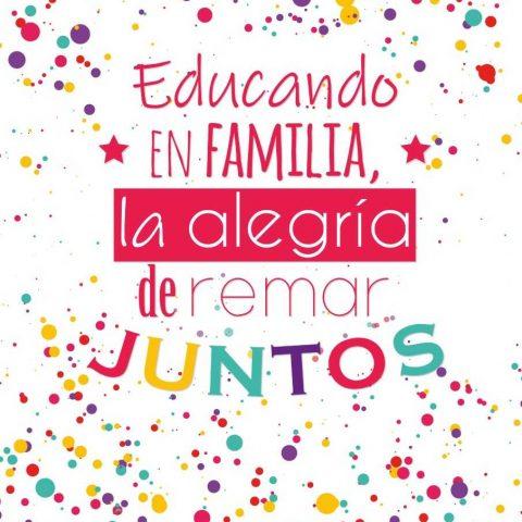 EDUCANDO EN FAMILIA, La Alegría de Remar Juntos