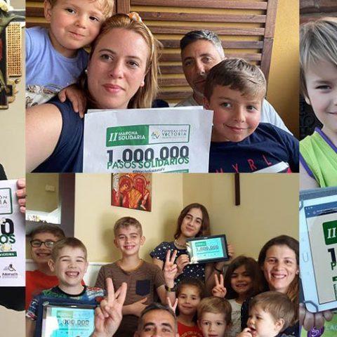 """Casi 10.000 y 3 millones de pasos en la """"II Marcha Solidaria"""" de Fundación Victoria"""
